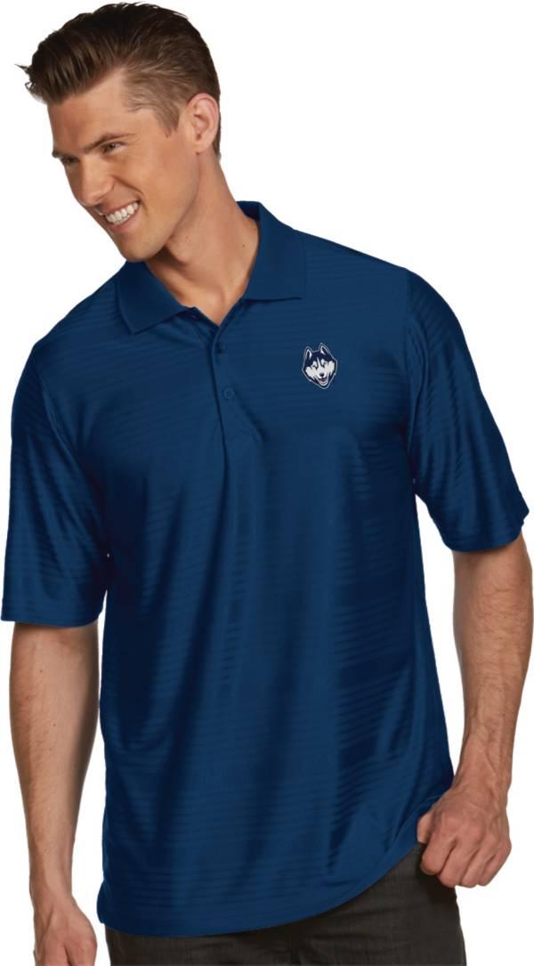 Antigua Men's UConn Huskies Blue Illusion Polo product image