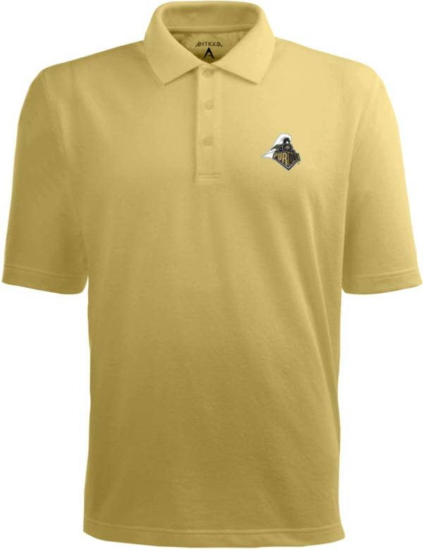 Antigua Men's Purdue Boilermakers Old Gold Xtra-Lite Polo product image