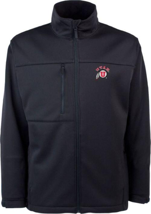1b3d7400 Antigua Men's Utah Utes Black Traverse Full-Zip Jacket. noImageFound. 1