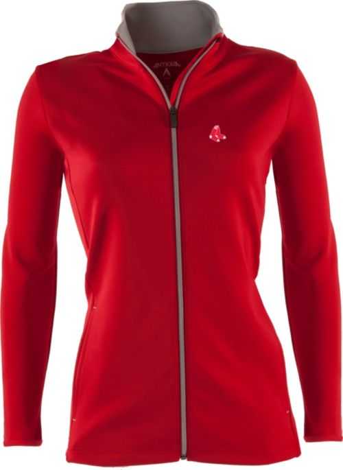 c6a78960 Antigua Women's Boston Red Sox Leader Red Full-Zip Jacket. noImageFound. 1