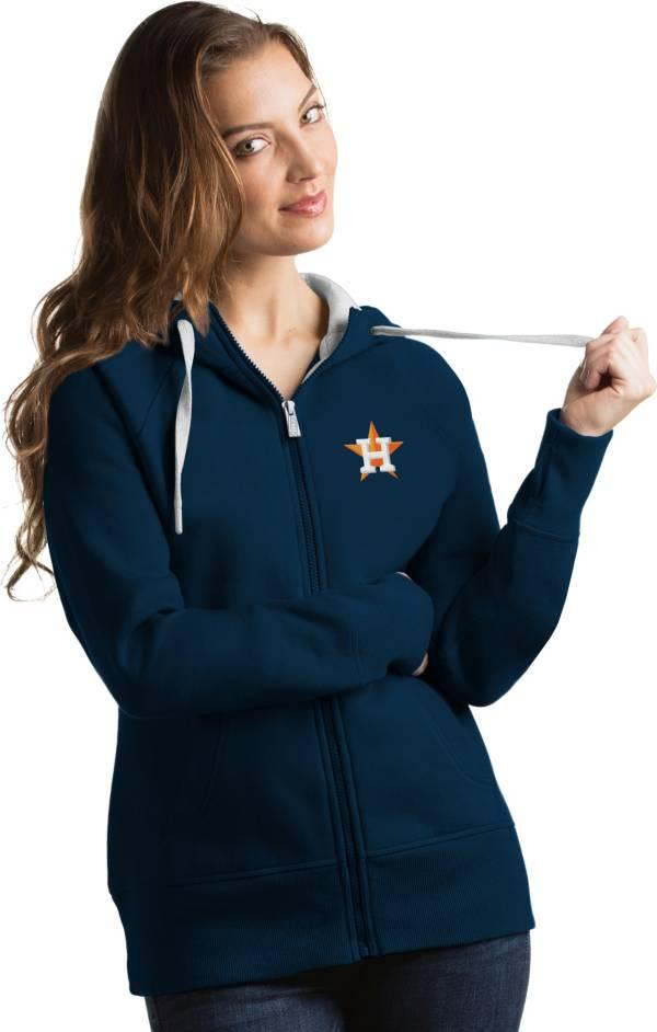 Antigua Women's Houston Astros Navy Victory Full-Zip Hoodie product image