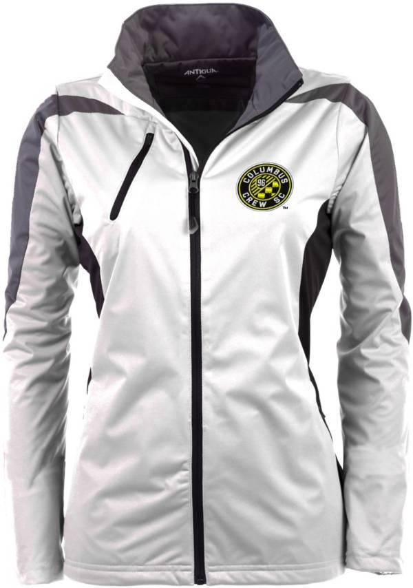 Antigua Women's Columbus Crew Discover White Jacket product image