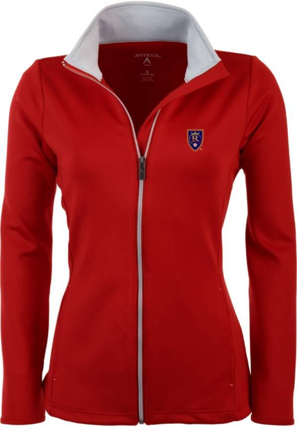 Antigua Women's Real Salt Lake Red Leader Full-Zip Jacket product image