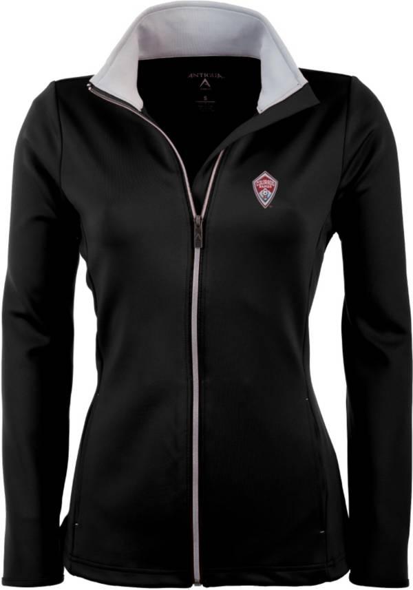 Antigua Women's Colorado Rapids Black Leader Full-Zip Jacket product image