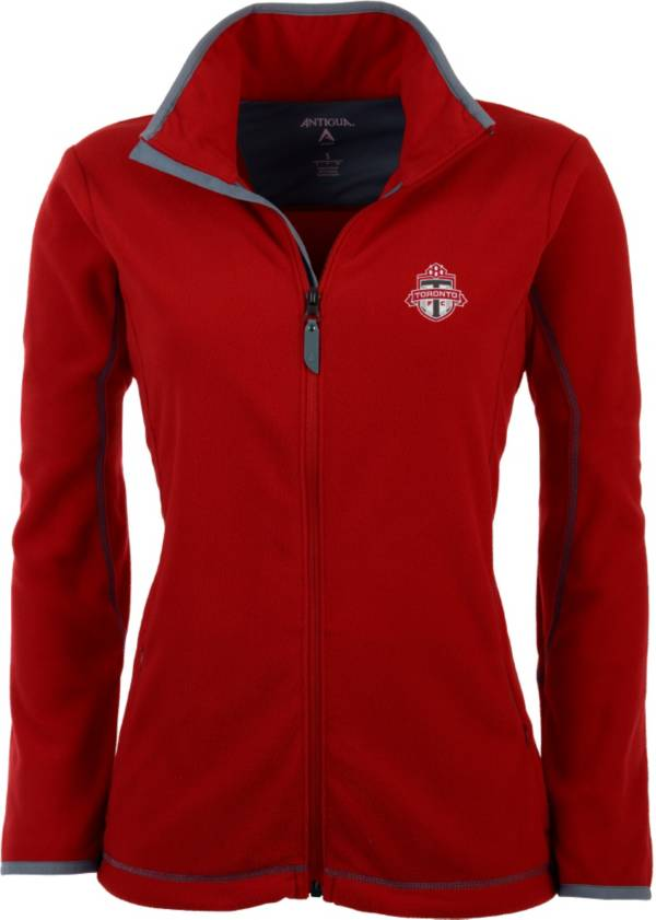 Antigua Women's Toronto FC Red Ice Full-Zip Fleece Jacket product image