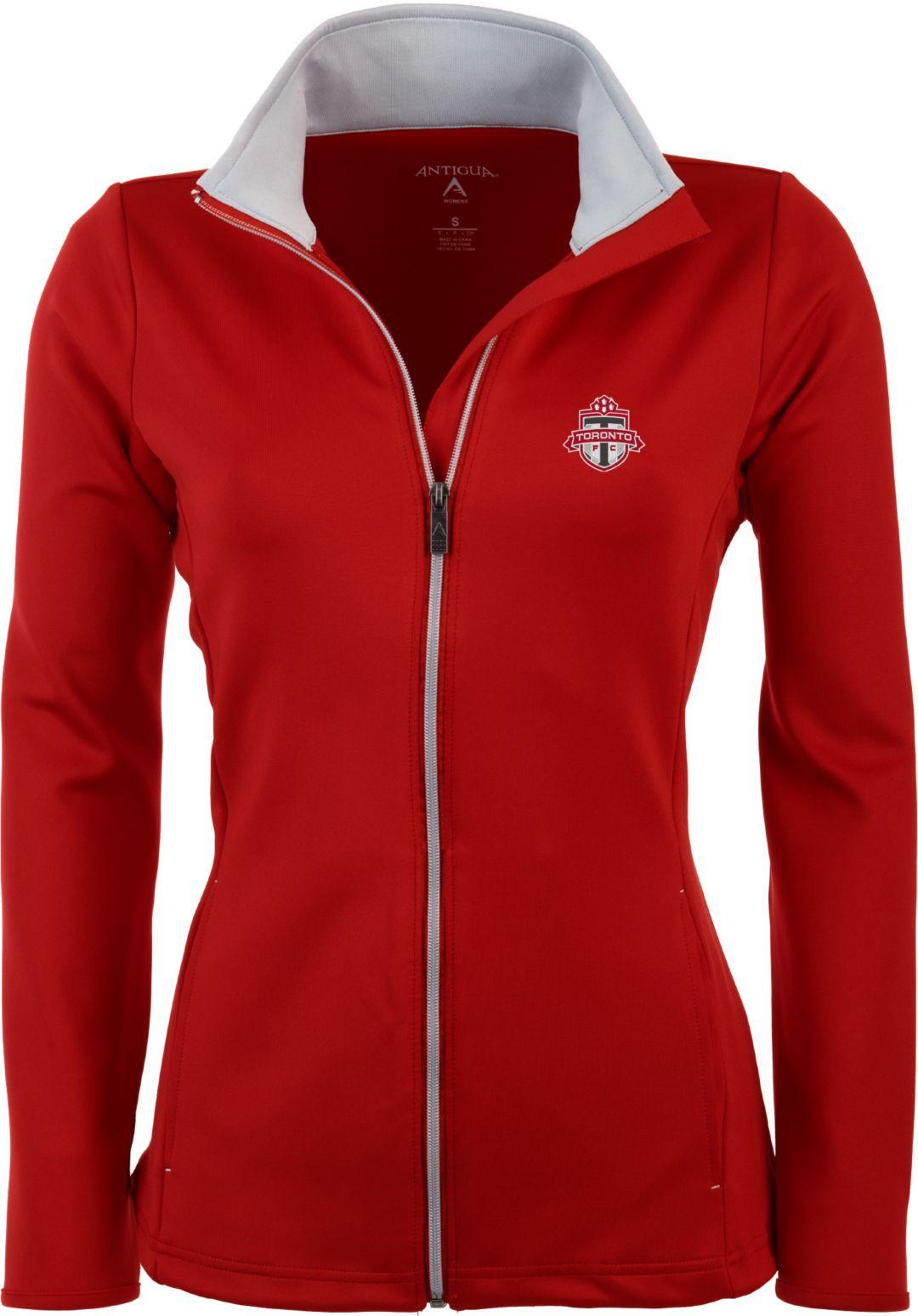 new arrival dc197 2390f Antigua Women's Toronto FC Red Leader Full-Zip Jacket