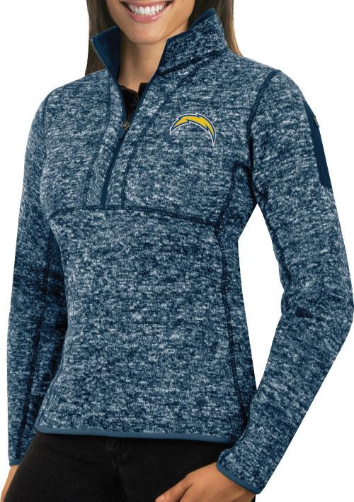 Discount Antigua Women's Los Angeles Chargers Fortune Navy Pullover Jacket  supplier