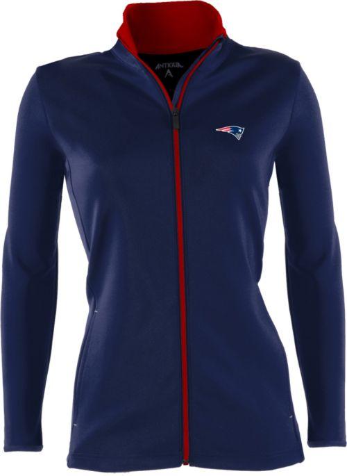 950d52a6e52 Antigua Women s New England Patriots Leader Full-Zip Navy Jacket.  noImageFound. 1