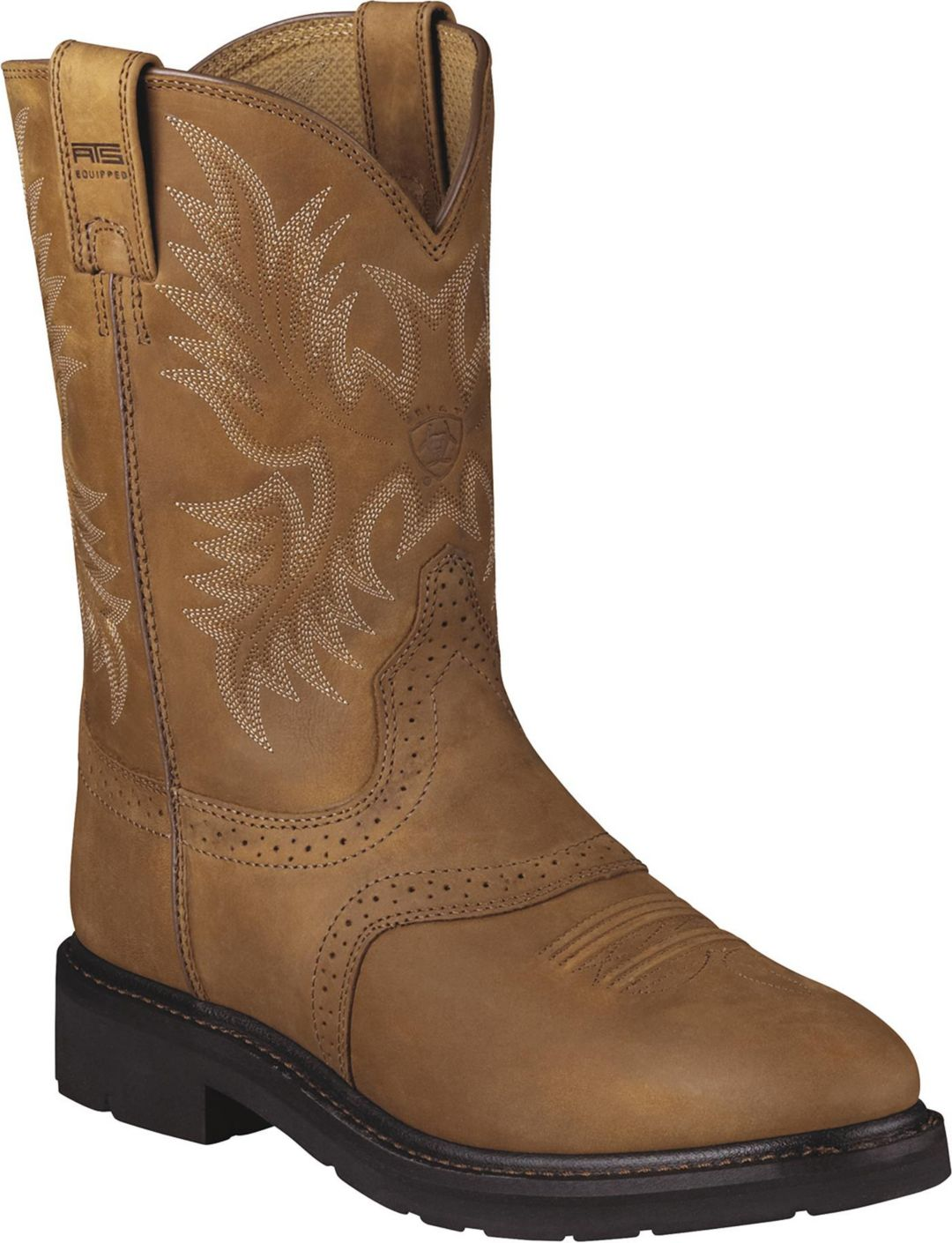 a8ddddb9f55 Ariat Men's Sierra Saddle Work Boots