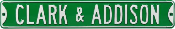Authentic Street Signs Chicago Cubs 'Clark & Addison' Street Sign product image