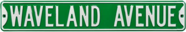 Authentic Street Signs Chicago Cubs 'Waveland Avenue' Street Sign product image