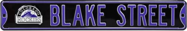 Authentic Street Signs Colorado Rockies 'Blake Street' Street Sign product image