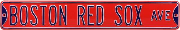 Authentic Street Signs Boston Red Sox Red Avenue Sign product image
