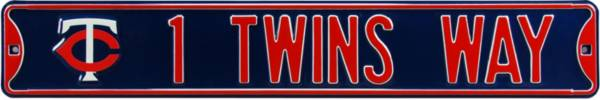 Authentic Street Signs Minnesota Twins '1 Twins Way' Street Sign product image