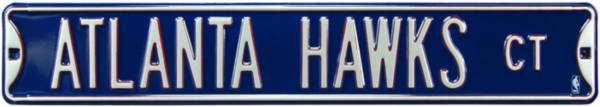 Authentic Street Signs Atlanta Hawks Court Sign product image