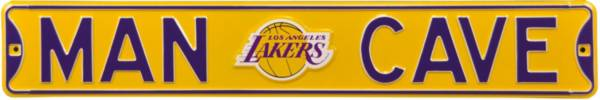 Authentic Street Signs Los Angeles Lakers 'Man Cave' Street Sign product image