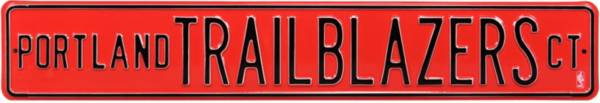 Authentic Street Signs Portland Trail Blazers Court Sign product image