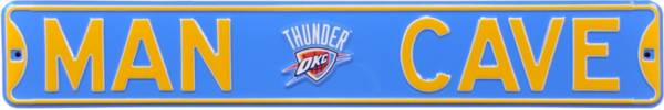 Authentic Street Signs Oklahoma City Thunder 'Man Cave' Street Sign product image