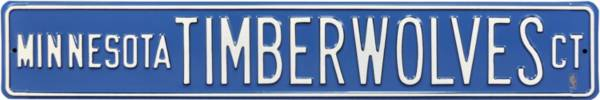 Authentic Street Signs Minnesota Timberwolves Court Sign product image