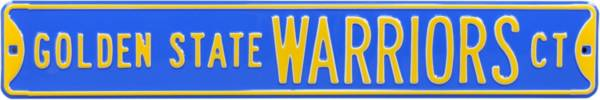 Authentic Street Signs Golden State Warriors Court Sign product image
