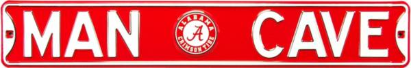 Authentic Street Signs Alabama Crimson Tide 'Man Cave' Street Sign product image