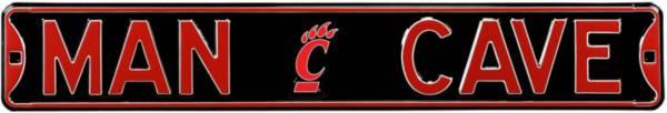 Authentic Street Signs Cincinnati Bearcats 'Man Cave' Street Sign product image