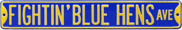 Authentic Street Signs Delaware Fightin' Blue Hens Avenue Sign product image