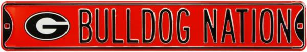 Authentic Street Signs Georgia 'Bulldog Nation' Street Sign product image