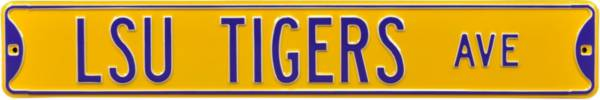 Authentic Street Signs LSU Tigers Avenue Sign product image