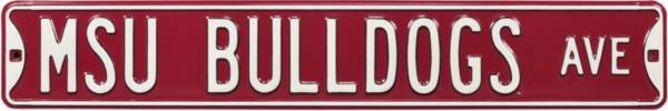 Authentic Street Signs Mississippi State 'MSU Bulldogs Ave' Sign product image