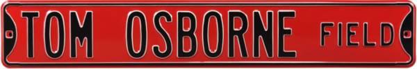 Authentic Street Signs Nebraska Cornhuskers 'Tom Osborne Field' Street Sign product image