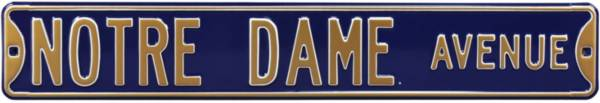 Authentic Street Signs Notre Dame Avenue Navy Sign product image