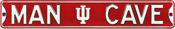 Authentic Street Signs Indiana Hoosiers 'Man Cave' Street Sign product image