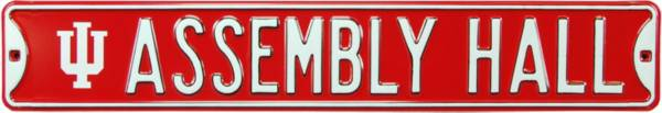 Authentic Street Signs Indiana Hoosiers 'Assembly Hall' Street Sign product image