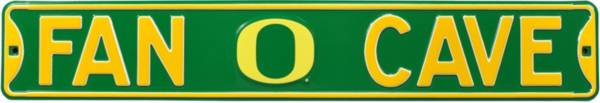 Authentic Street Signs Oregon Ducks 'Fan Cave' Street Sign product image