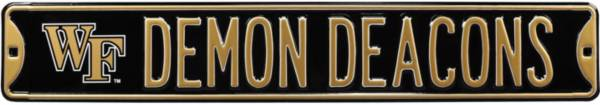 Authentic Street Signs Wake Forest Demon Deacons Street Sign product image