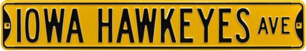 Authentic Street Signs Iowa Hawkeyes Avenue Sign product image