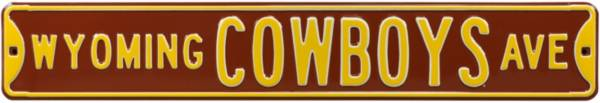 Authentic Street Signs Wyoming Cowboys Avenue Sign product image