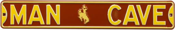 Authentic Street Signs Wyoming Cowboys 'Man Cave' Street Sign product image