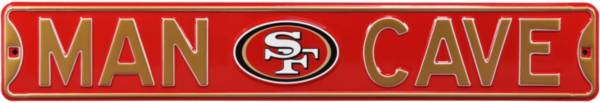 Authentic Street Signs San Francisco 49ers 'Man Cave' Street Sign product image