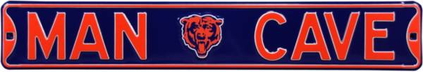 Authentic Street Signs Chicago Bears 'Man Cave' Street Sign product image