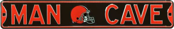 Authentic Street Signs Cleveland Browns 'Man Cave' Street Sign product image
