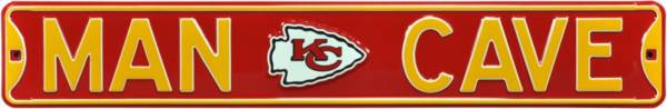 Authentic Street Signs Kansas City Chiefs 'Man Cave' Street Sign product image