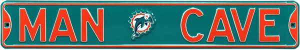 Authentic Street Signs Miami Dolphins 'Man Cave' Street Sign product image