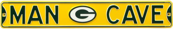 Authentic Street Signs Green Bay Packers 'Man Cave' Street Sign product image