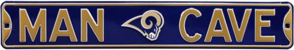 Authentic Street Signs Los Angeles Rams 'Man Cave' Street Sign product image