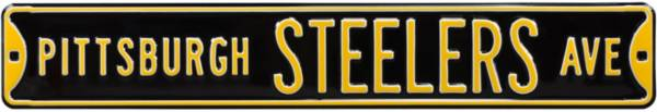 Authentic Street Signs Pittsburgh Steelers Avenue Black Sign product image