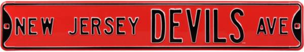 Authentic Street Signs New Jersey Devils Ave Sign product image