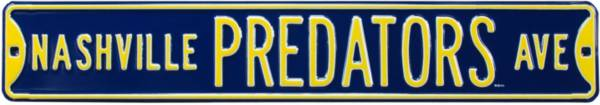 Authentic Street Signs Nashville Predators Ave Sign product image