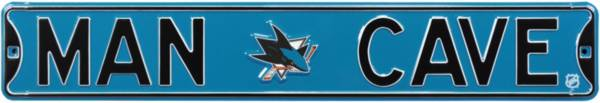 Authentic Street Signs San Jose Sharks 'Man Cave' Street Sign product image